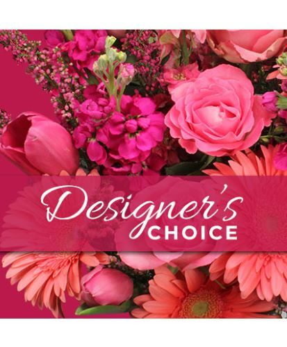 Bright Color Designer's Choice from Richardson's Flowers in Medford, NJ