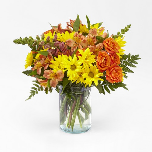 Warm Amber Bouquet from Richardson's Flowers in Medford, NJ