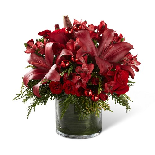 The FTD Season's Sparkle Bouquet from Richardson's Flowers in Medford, NJ