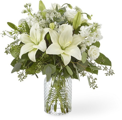 The FTD Alluring Elegance Bouquet from Richardson's Flowers in Medford, NJ