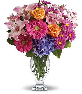 Wondrous Wishes by Teleflora from Richardson's Flowers in Medford, NJ