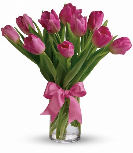 Precious Pink Tulips from Richardson's Flowers in Medford, NJ