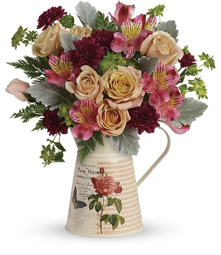 Teleflora's Mod Mademoiselle Bouquet from Richardson's Flowers in Medford, NJ