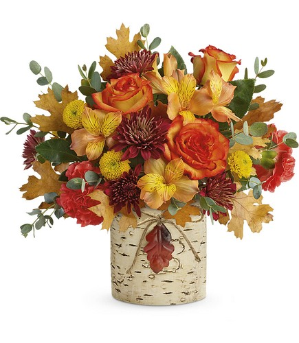 Autumn Colors Bouquet from Richardson's Flowers in Medford, NJ