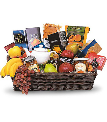 Grande Gourmet Fruit Basket from Richardson's Flowers in Medford, NJ