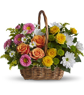 Sweet Tranquility Basket from Richardson's Flowers in Medford, NJ