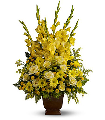 Teleflora's Sunny Memories from Richardson's Flowers in Medford, NJ