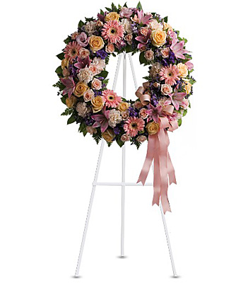 Graceful Wreath from Richardson's Flowers in Medford, NJ