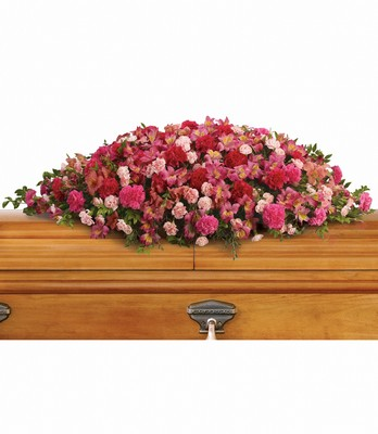 A Life Loved Casket Spray from Richardson's Flowers in Medford, NJ