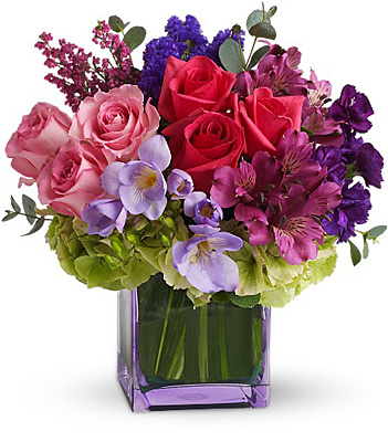 Exquisite Beauty by Teleflora from Richardson's Flowers in Medford, NJ
