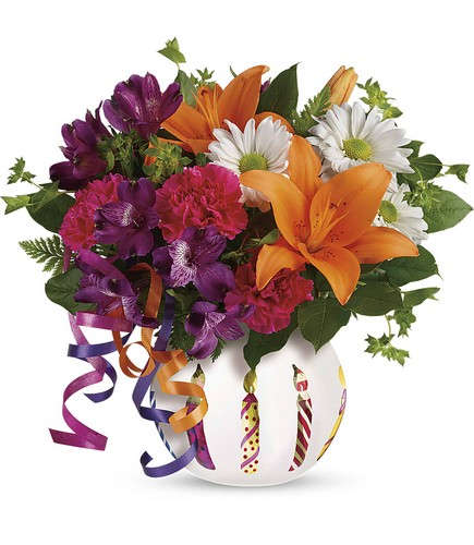Teleflora's Party Starter Bouquet from Richardson's Flowers in Medford, NJ