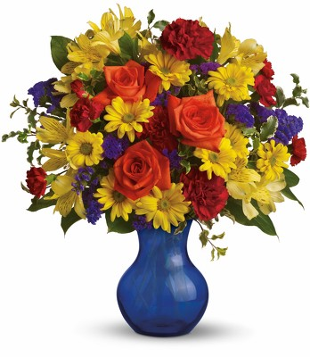 Teleflora's Three Cheers for You! from Richardson's Flowers in Medford, NJ