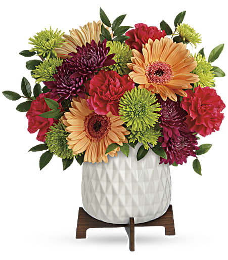 Mid Mod Brights Bouquet from Richardson's Flowers in Medford, NJ