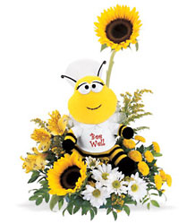 Bee Well Bouquet from Richardson's Flowers in Medford, NJ