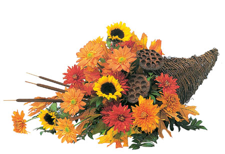 Captivating Cornucopia from Richardson's Flowers in Medford, NJ